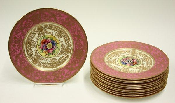 2012: Royal Worcester service plates Gumps