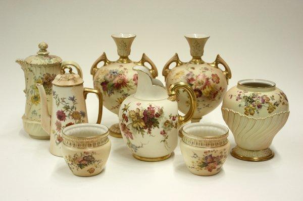 2014: Royal Worcester Blush Ivory porcelain