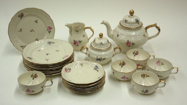 2070: Rosenthal porcelain tea set Sanssouci - 2