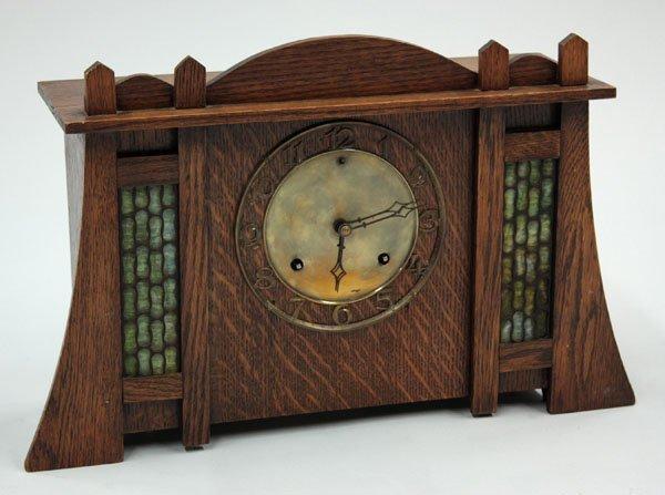 2100: Arts & Crafts style clock