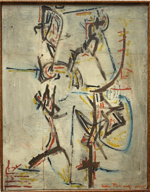 2160: Painting, Leslie Turner, Californian