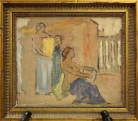 2207: Painting, Joseph Raphael, Californian