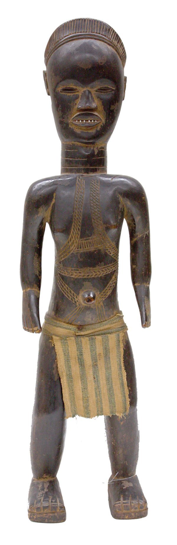 2268: Sra (Zlan)  Belewale Male Figure Dan Liberia