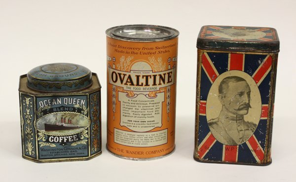 15: Victorian and vintage tins