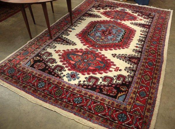 123: Afghan rug carpet