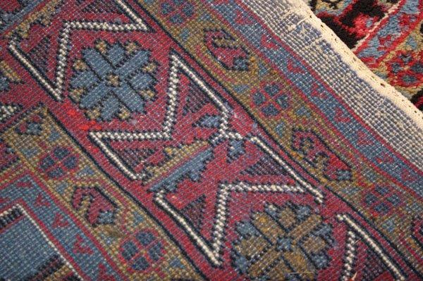 123: Afghan rug carpet - 3