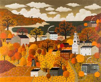 Painting, Charles Wysocki
