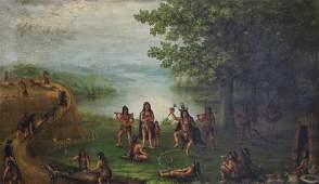 Painting, Max Saxon