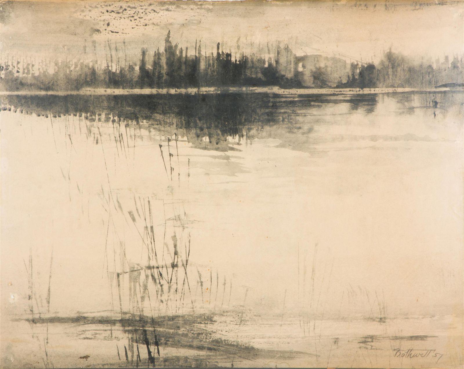 Work on paper, Dorr Hodgson Bothwell