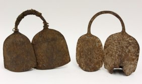 Small Metal Gongs, West Africa