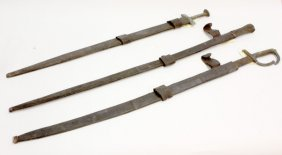 6015: swords leather sheaths, North African