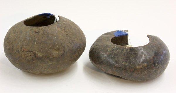 6016: Copper anklets, Mbole, D. R. Congo