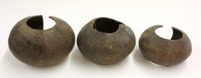 6018: Copper anklets, Mbole, D. R. Congo,