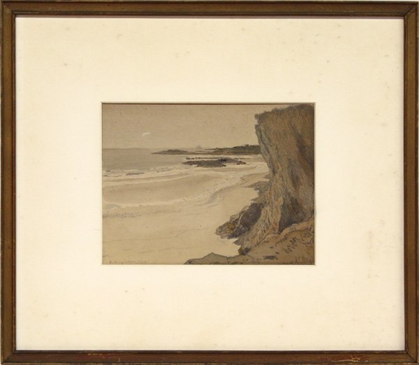 4002: Watercolor, Rudolph Ruzicka, American