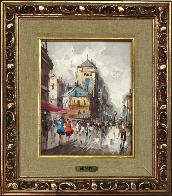 4004: Oil painting, Antonio De Vity, Paris