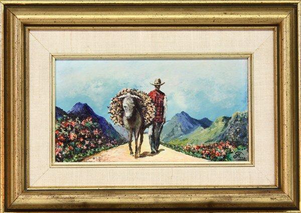 4005: paintings, C. Meza