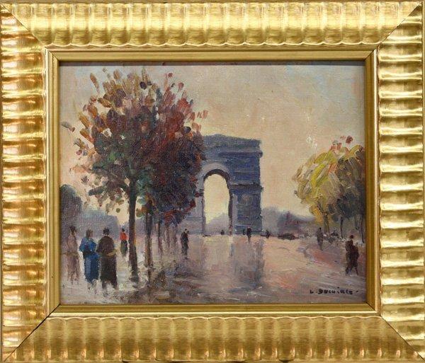 4007: paintings, Parisian Scenes