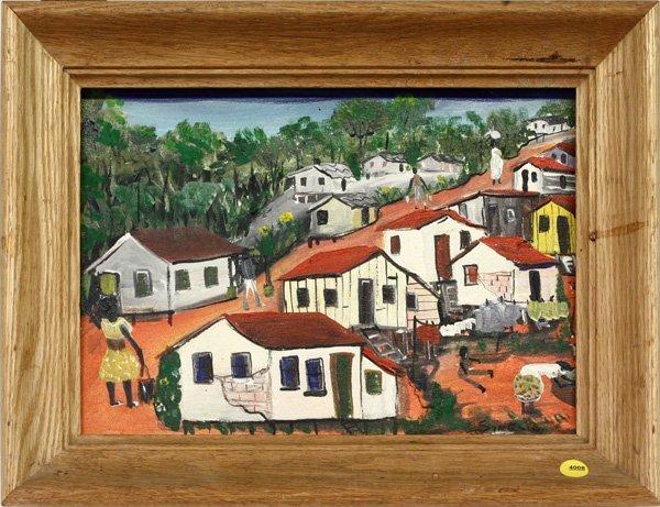 4008: painting, Favela, Sinesio