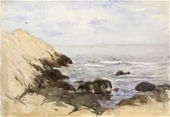 4433 watercolors on paper Coastal Scenes