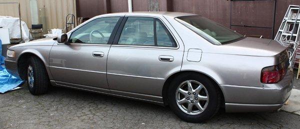 4466: 1998 Cadillac STS