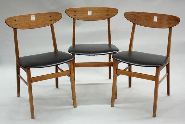 4511: Danish modern side chairs Farstrup