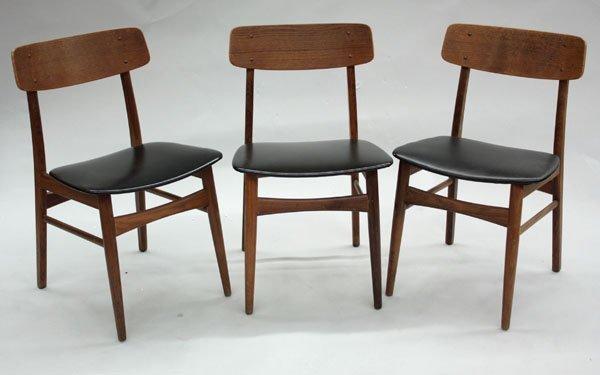 4511: Danish modern side chairs Farstrup - 2