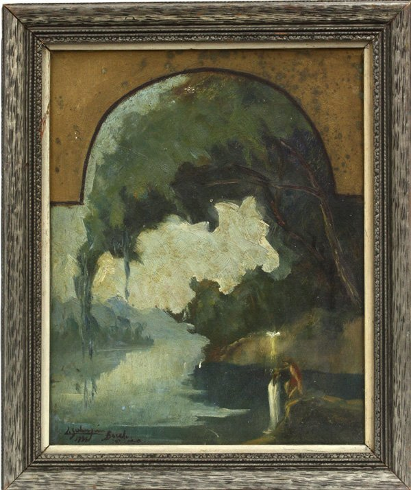 2007: painting, Tonalist Composition, 1936