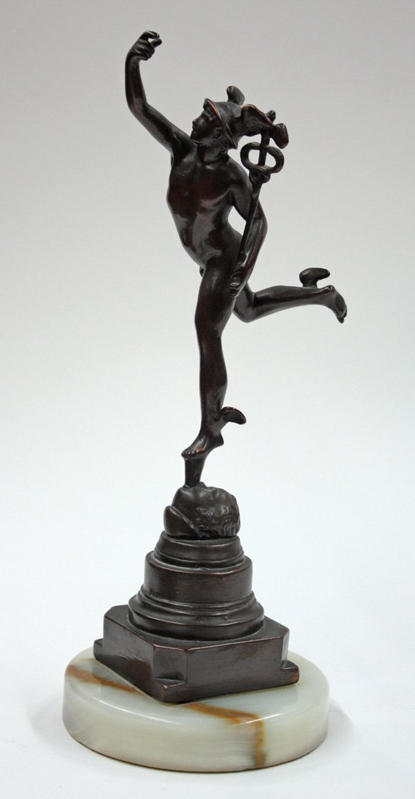 2016: Bronze Mercury Riding the North Wind