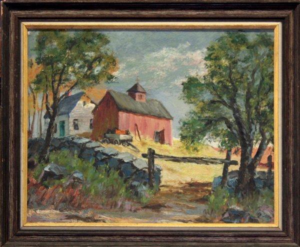 7: painting, Farm
