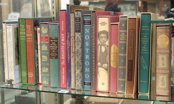 9: Books Twain Paine Dickens Whitman