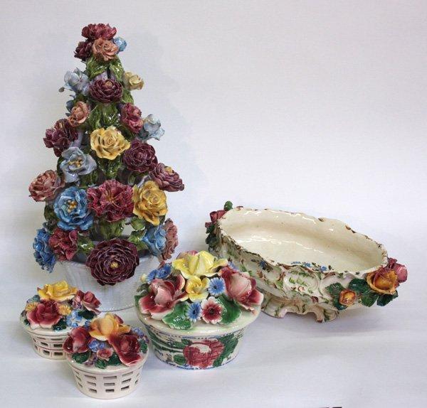 11: Italian hand-decorated ceramics