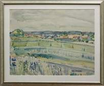 Watercolor, Paul Braudey, Contemporary