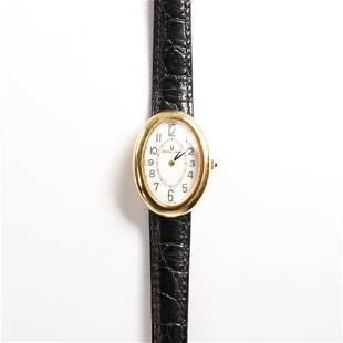 An eighteen karat gold wristwatch, Universal Geneve