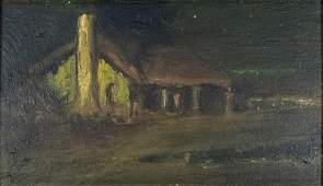 Painting, Charles Rollo Peters