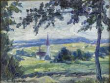 Painting George Gardner Symons