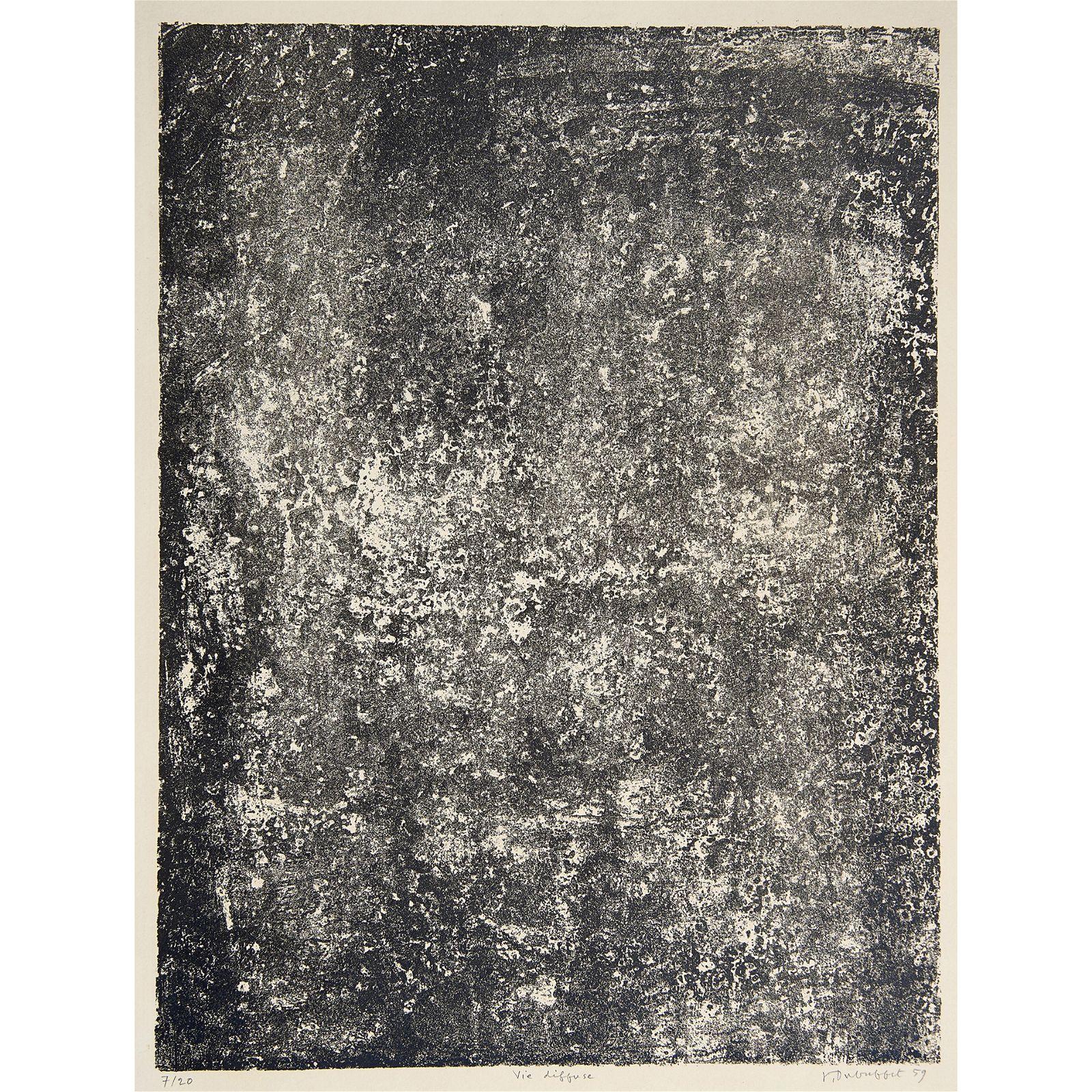 Print, Jean Dubuffet