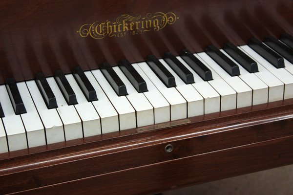 6064: Chickering & Sons grand piano, Model 119 - 3