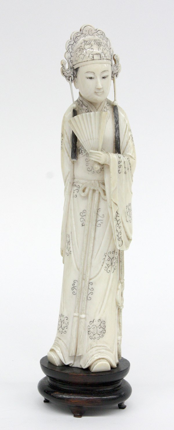 6280: Chinese Ivory Figure, Scholar-Official