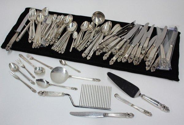 6453: International silver Royal Danish flatware