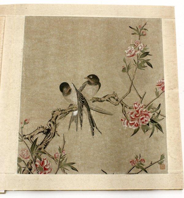 4107: Chinese Album,after LangShining,Birds