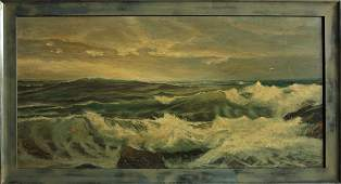 4280: painting, Seascape, contemporary