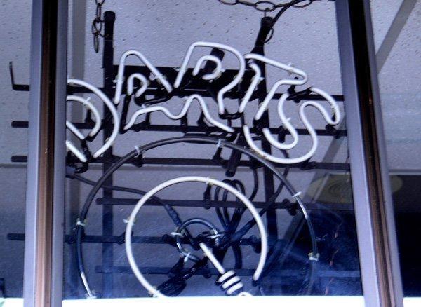 9001: Harley Davidson mirrord sign