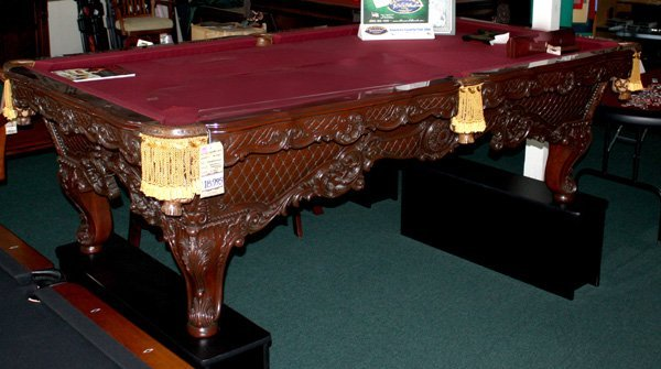 9132: Charles A. Porter  Gobelins model pool table
