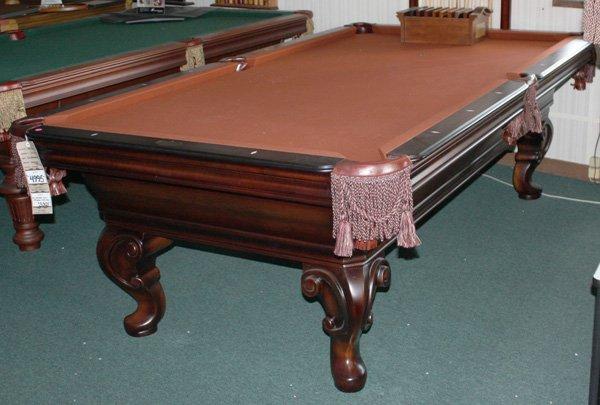 9134: Olhausen  Seville model pool table