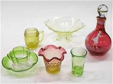 6036: Group of Art Glass