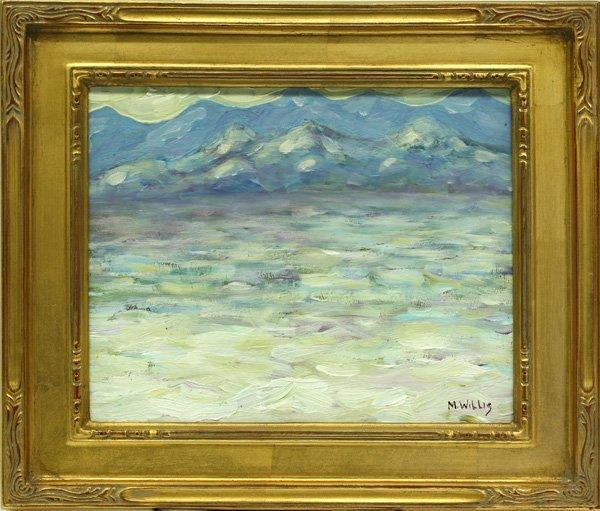 2004: painting, Martin Willis, Dunes