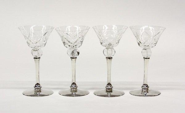 2013: Crystal wines Shreve sterling stems