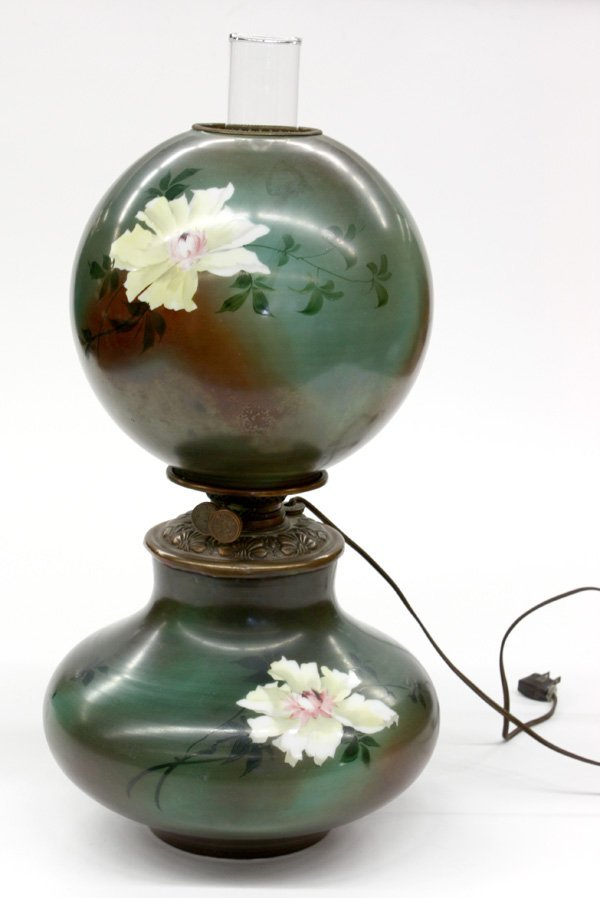2023: Victorian oil lamp electrified