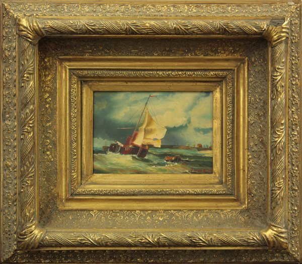 4: Nautical Scene, signed and dated ''J.Webb