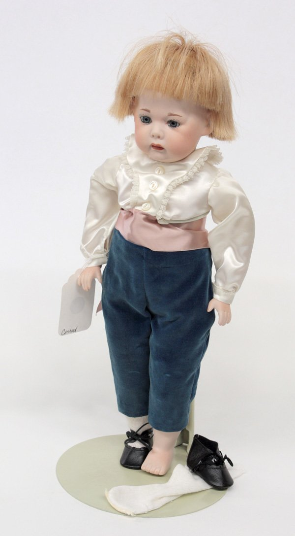 18: Armand Marseille bisque socket head doll